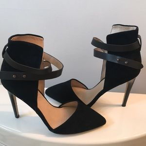 Joe's Black High Heels
